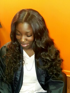 long Sew-in weave waves