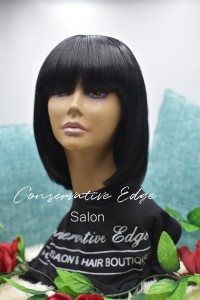custom wig Conservative Edge Salon